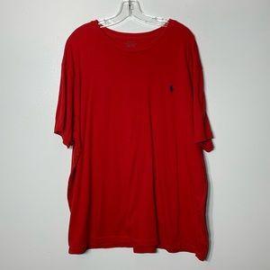 Polo Ralph Lauren Red Short Sleeve Tee - XXL